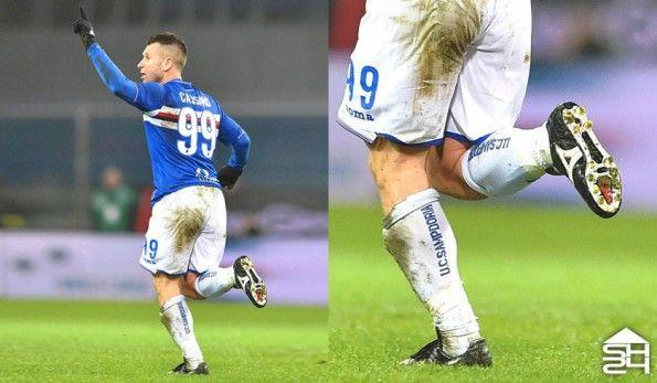 Antonio Cassano (Sampdoria) - Mizuno Morelia