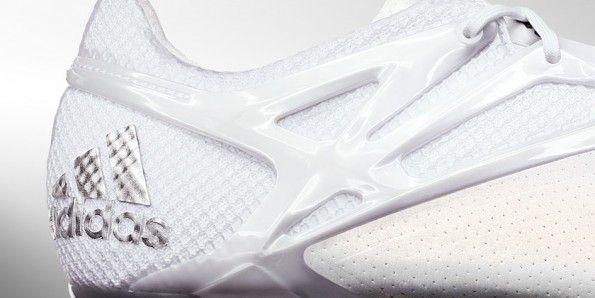 Dettaglio scarpini Messi Platinum