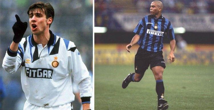 Maglie Inter 1991-92 e 1997-98