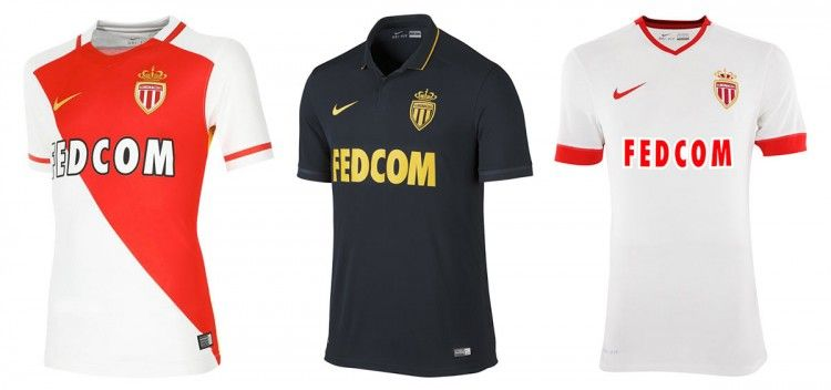 Maglie AS Monaco 2015-2016 Nike