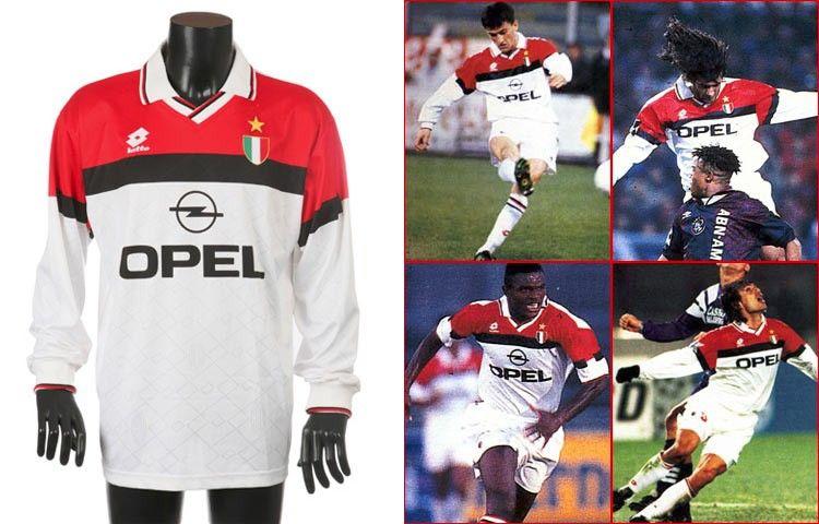 Seconda maglia Milan 1994-1995
