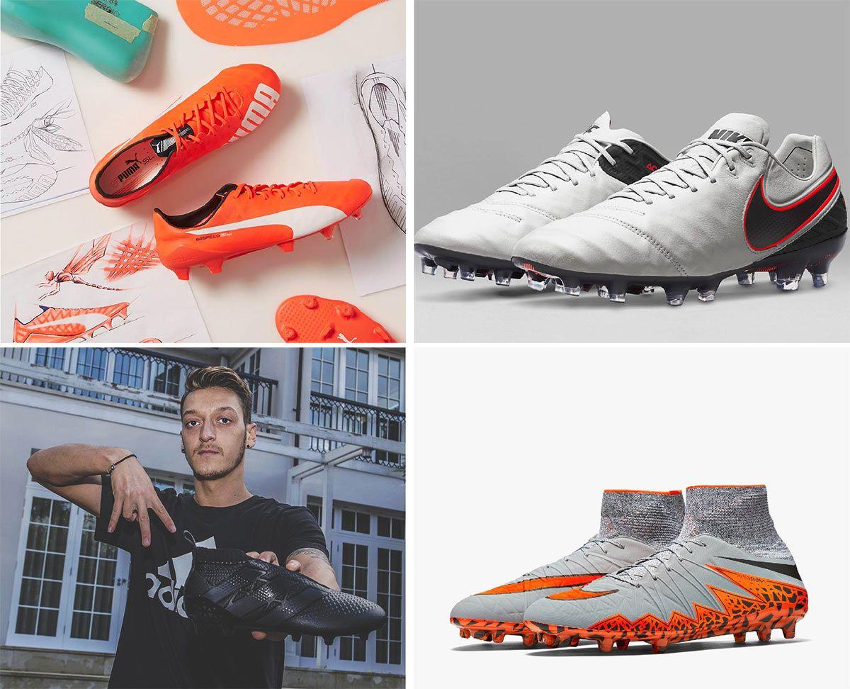 4 scarpe da calcio TOP 2015
