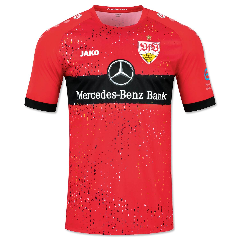 Seconda maglia Stoccarda 2021-2022 rossa