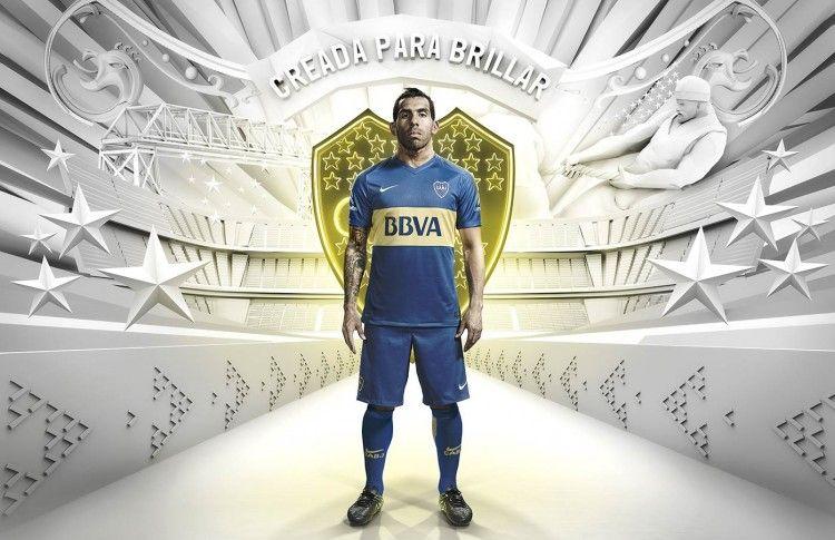Tevez maglia Boca Nike 2015