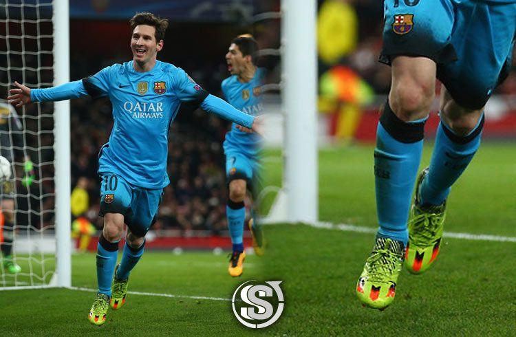 Messi scarpe verdi