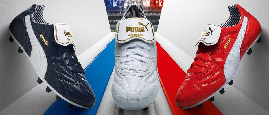 Puma King Top Stripe