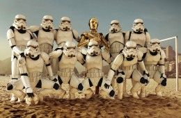 Star Wars Calcio Stellare