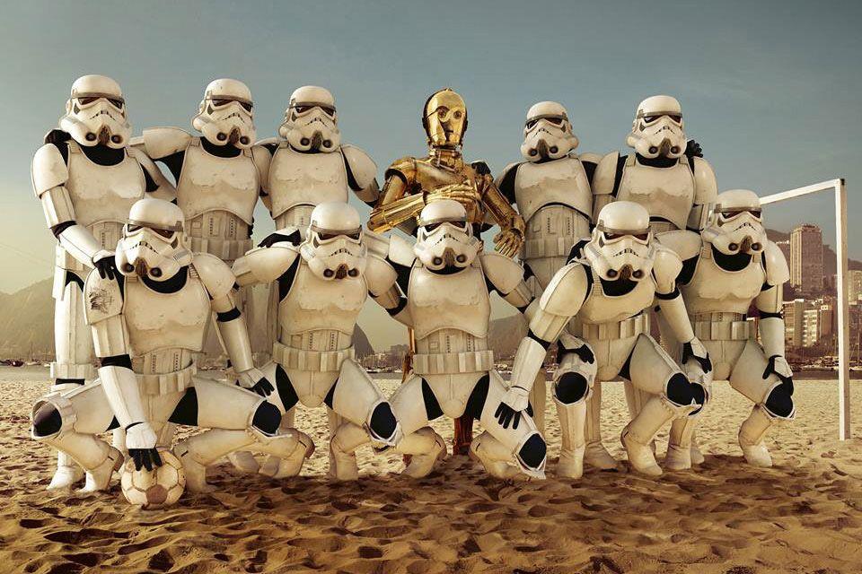 Star Wars Calcio Stellare
