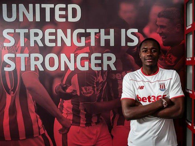 Terza maglia Stoke City 2015-2016