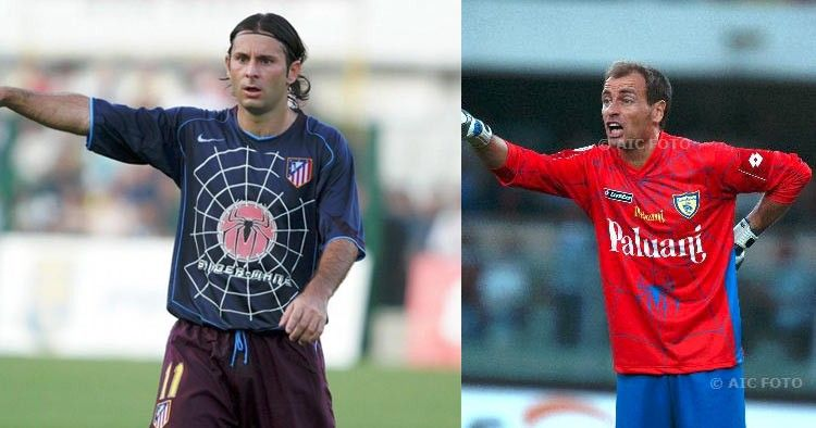 Maglie Chievo e Atletico Madrid in tema Spider-man