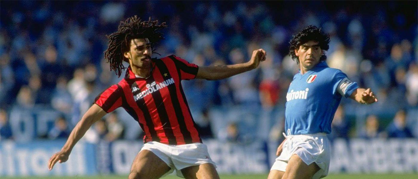 Cover Napoli Milan anni 80