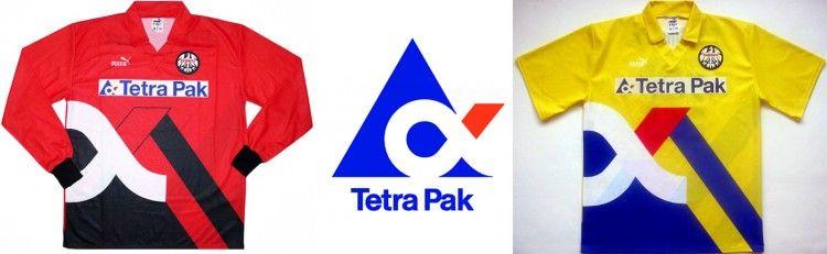 Eintracht Frankfurt Tetra Pak 1994