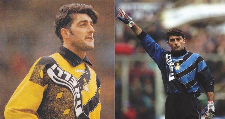 Pagliuca, maglia portiere Inter 1995-96