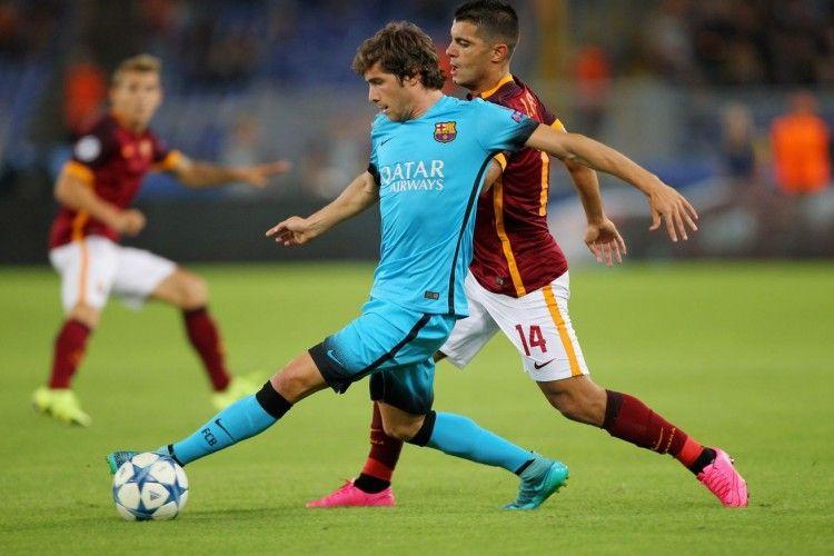 Sergi Roberto del Barcellona