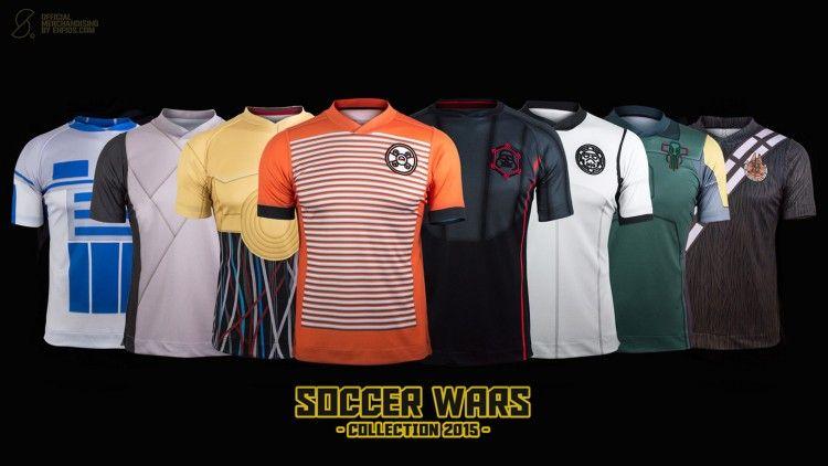 Soccer Wars Star Guerre Stellari