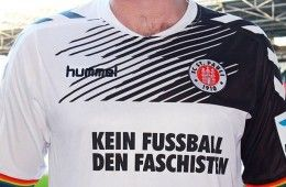 Maglia St. Pauli no fascisti cover