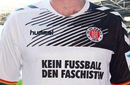 Maglia St. Pauli no fascisti cover