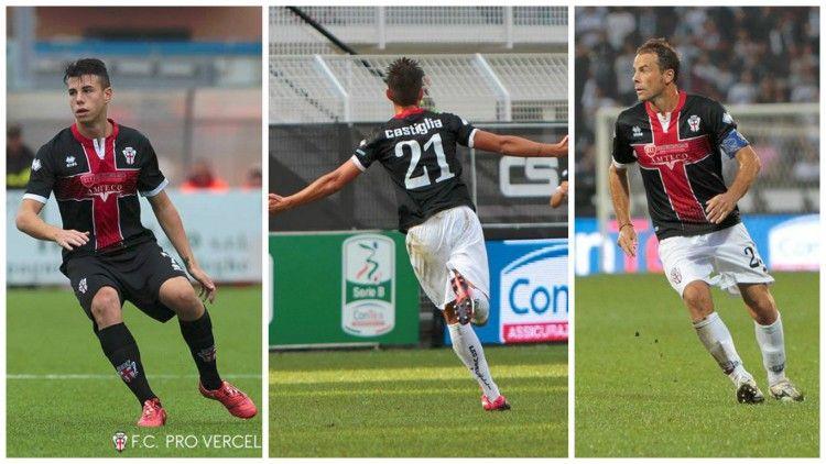 Pro Vercelli terza divisa nera 2015-2016