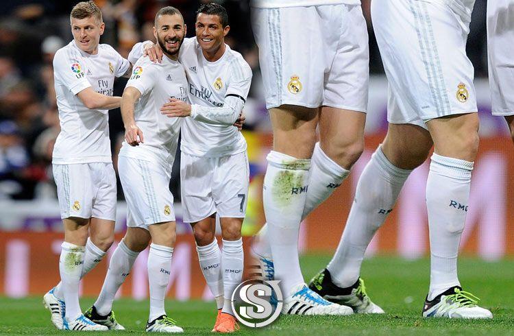 Karim Benzema (Real Madrid) - adidas X 15.1