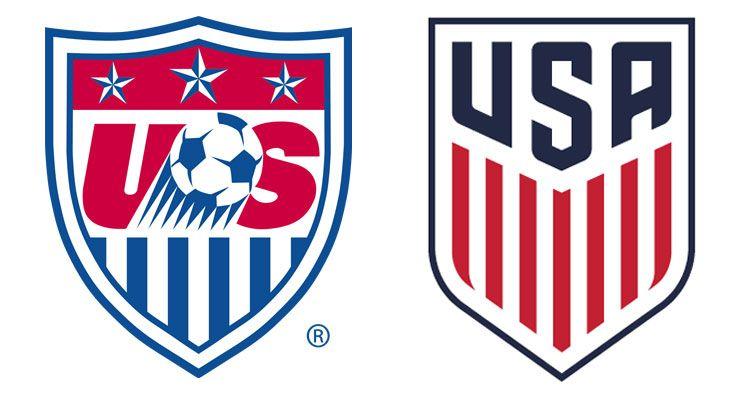 Confronto logo US Soccer