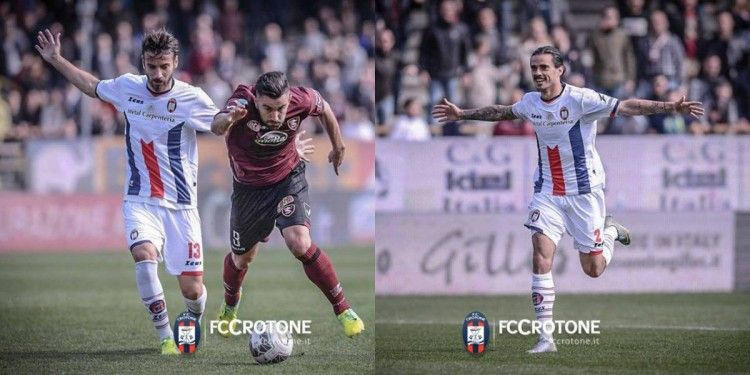 Crotone divisa away 2015-2016