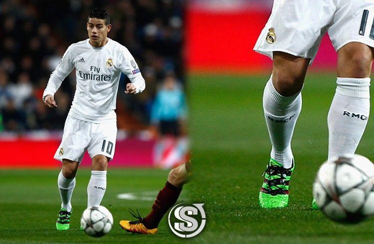 James Rodriguez (Real Madrid - 1st half vs Roma) - adidas ACE 16.1