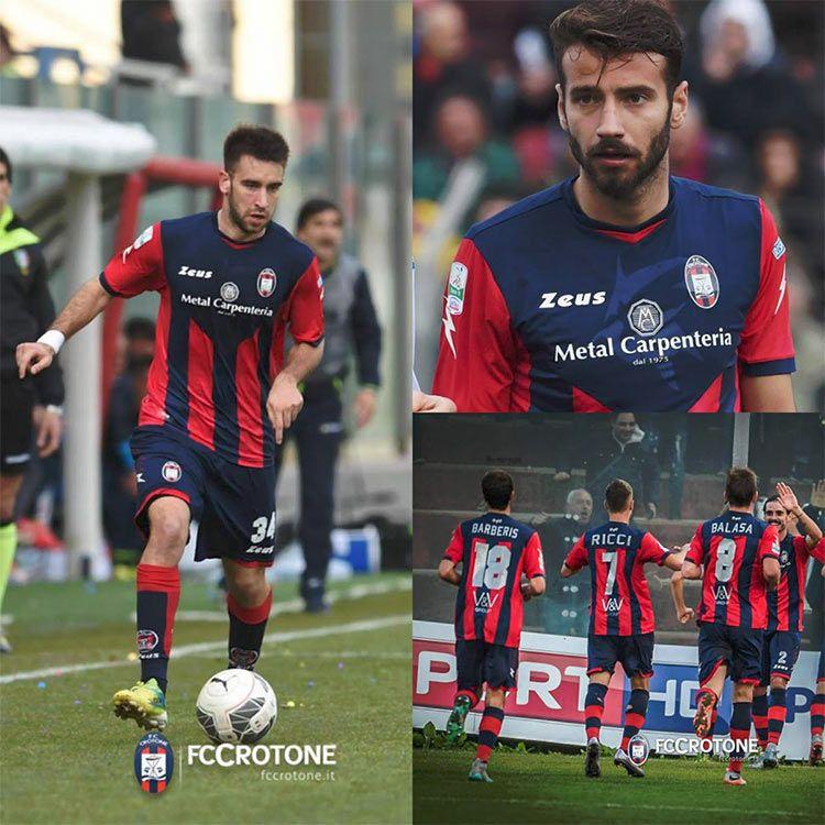 Crotone Calcio, divisa rossoblù 2015-2016