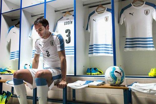 Divisa Uruguay away Copa America 2016