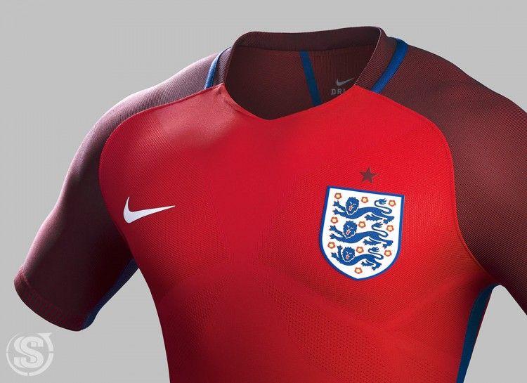 Seconda maglia Inghilterra Europei 2016