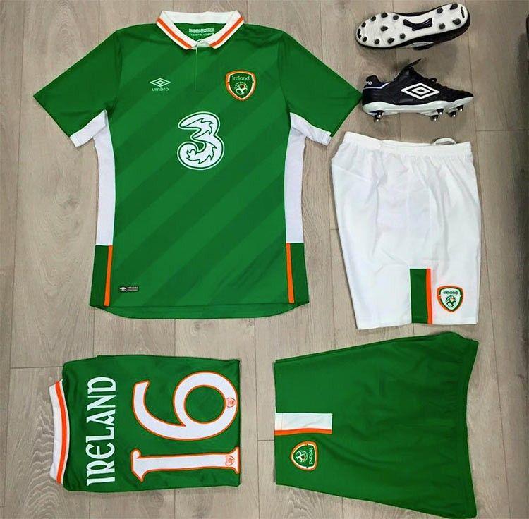 Kit Irlanda Euro 2016 Umbro