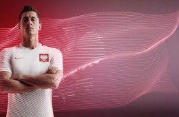 Lewandowski maglia Polonia 2016