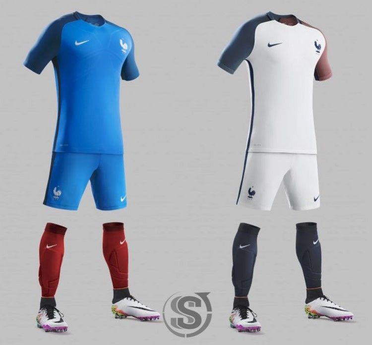 Maglie Francia Europei 2016 Nike