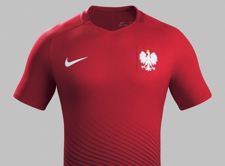 Seconda maglia Polonia 2016 rossa