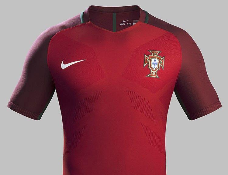Maglia Portogallo Europei 2016 home