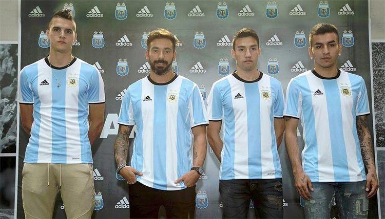 Presentazione maglia Argentina Coppa America 2016