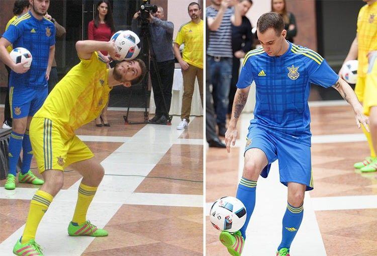 Presentazione maglie Ucraina Euro 2016