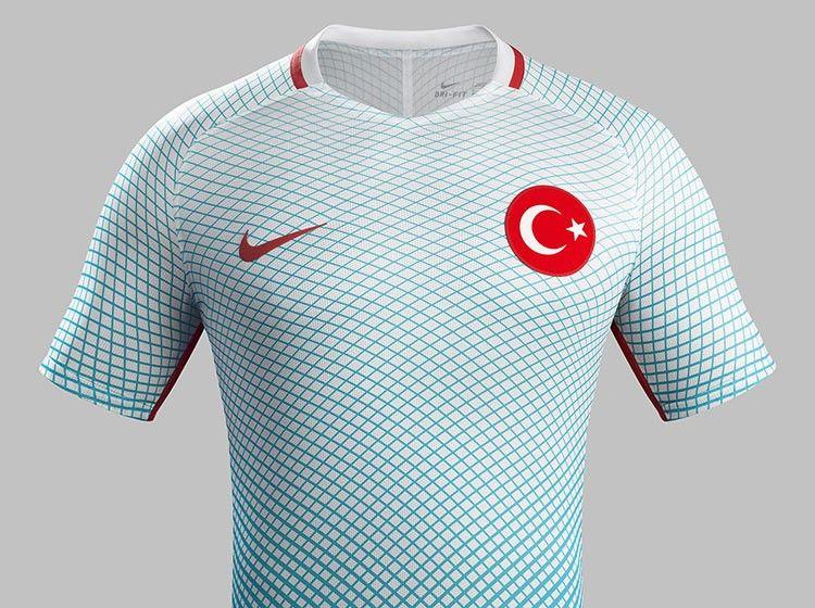 Turchia seconda maglia Euro 2016