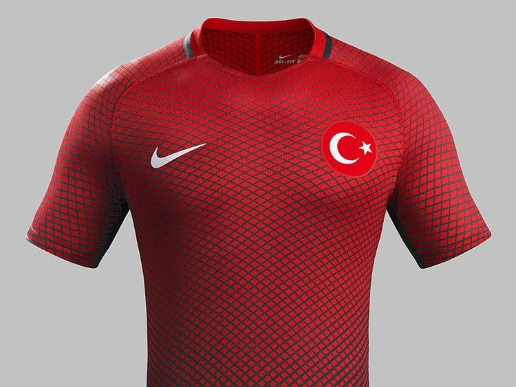 Maglia Turchia Euro 2016 home