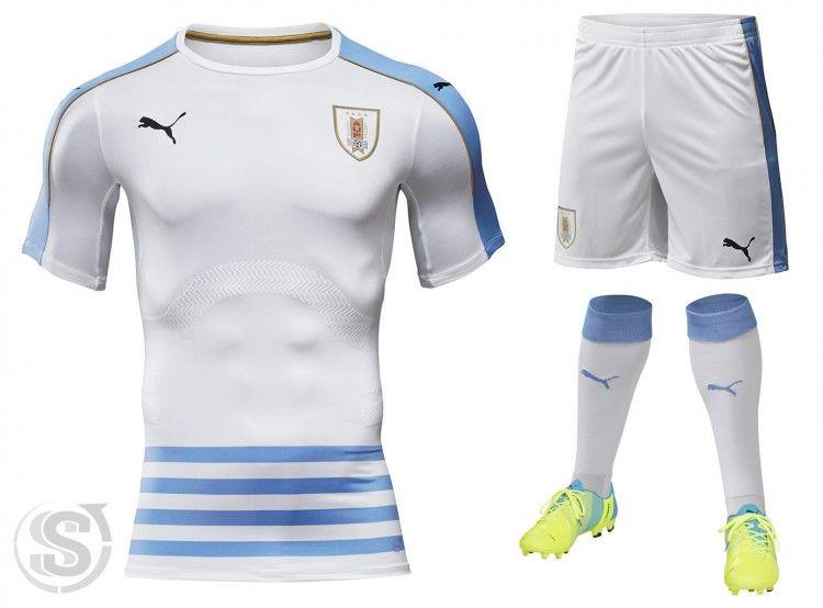 Uruguay seconda maglia 2016-2017