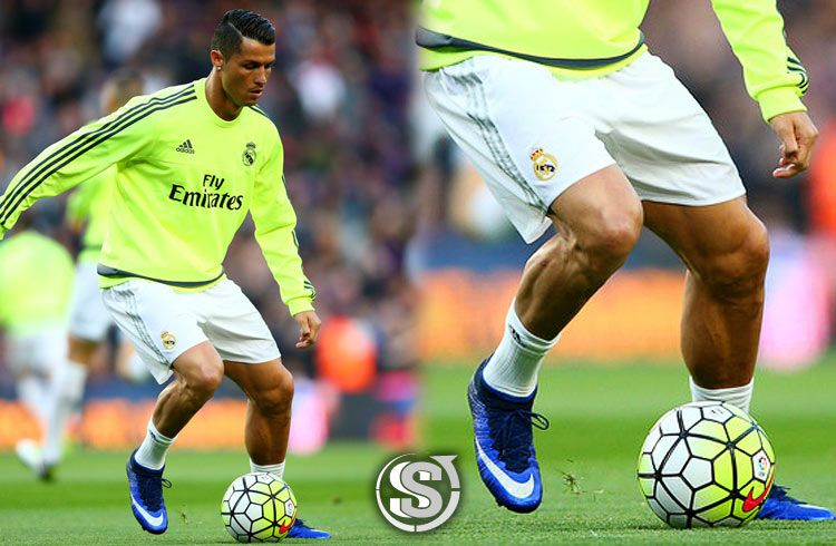 Cristiano Ronaldo (Real Madrid) - Nike Mercurial Superfly IV Natural Diamond