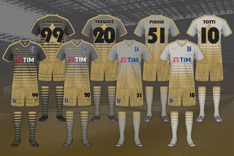 All-Star Game Serie A, maglie shootout