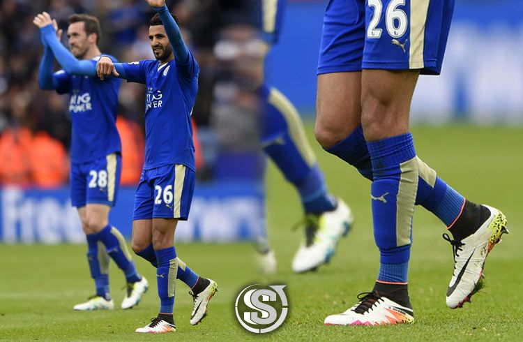 Ryad Mahrez (Leicester) - Nike HyperVenom Phantom II