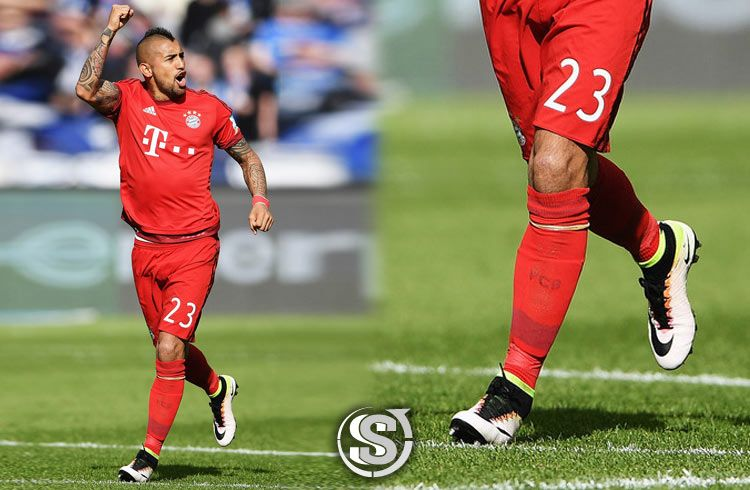 Arturo Vidal (Bayern Monaco) - Nike Mercurial Superfly IV