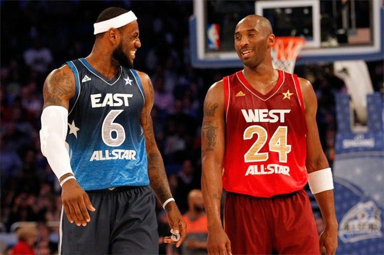 James e Bryant, All-Star Game NBA
