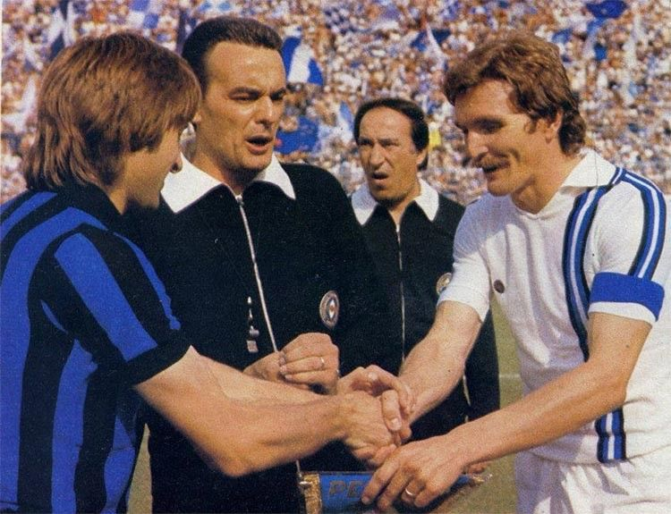 Zucchini, Atalanta-Pescara 1976-77