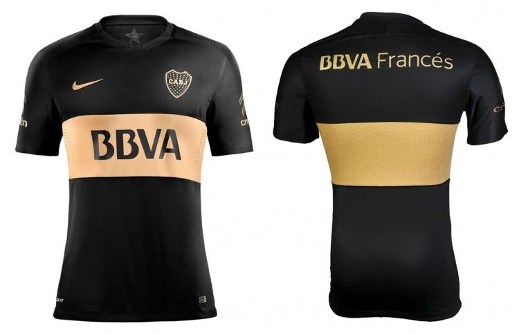Terza maglia Boca Juniors 2016 nera