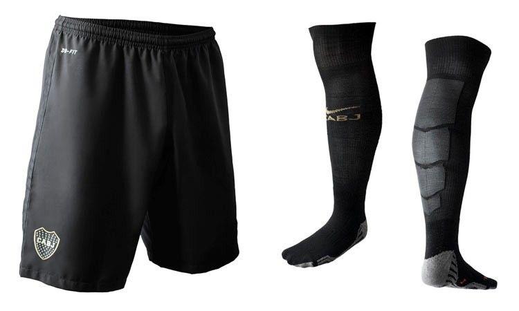 Boca Juniors pantaloncini calzettoni neri 2016