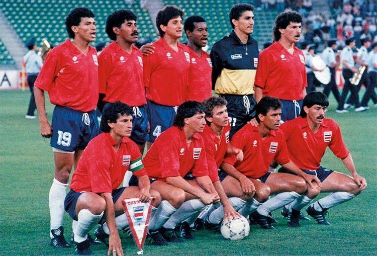 Costa Rica Mondiali 1990, maglia rossa