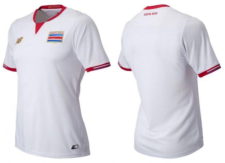 Costa Rica, seconda maglia Copa America 2016