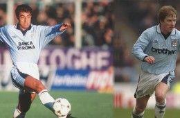 Lazio-Manchester city 95-97